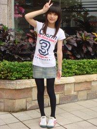 台湾90后美女陈小予自拍照