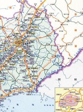 正余镇地图