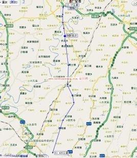 大广高速曲周口设计图