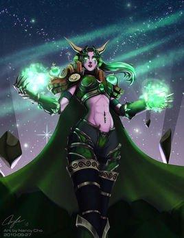 阿莱克斯塔萨的妹妹,她所守护翡翠梦境是艾泽拉斯在