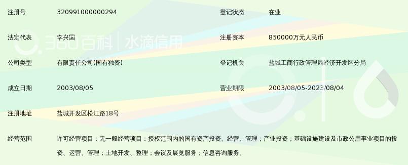 盐城东方投资开发集团有限公司_360百科