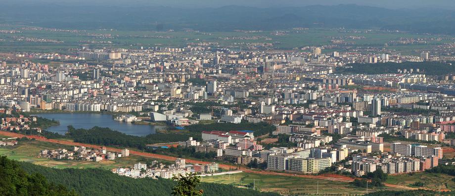 新余市辖渝水区,分宜县,仙女湖名胜风景区,高新技术产业开发区和孔目