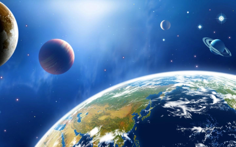 壁纸1440×900宇宙探索 太空与航天艺术图 第