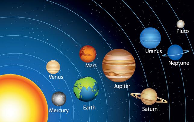 木星和土星,是太阳系内最大的两颗行星
