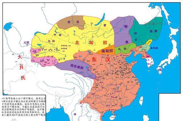 东汉末年地图
