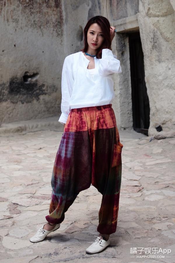 陈赫前妻许婧穿着民族风踏遍世界找回了自己遇见了他!