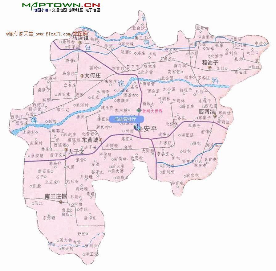 安平县地图