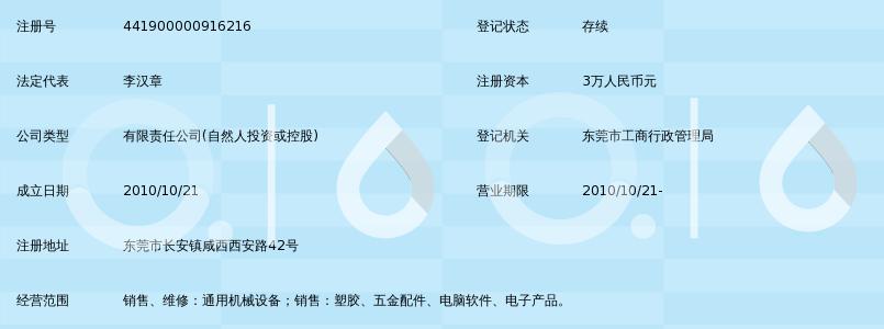 东莞市明丰精密机械有限公司_360百科