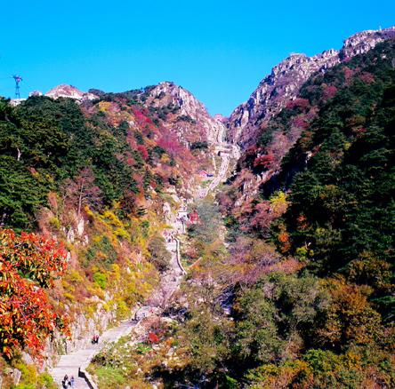 国泰民安 天下泰山(40张)泰安市[1]位于山东省中部,东西长约176.