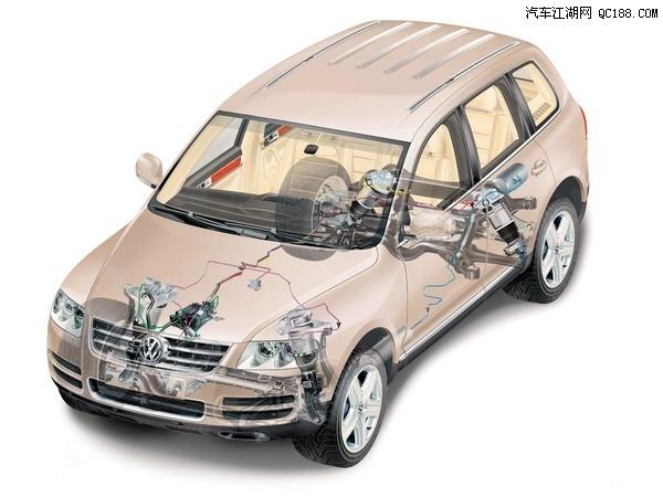 空气悬挂空气悬架系统(airmatic)是流行于当今发达国家汽车行业的图片