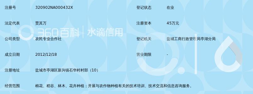盐城市亭湖区新兴镇石华村土地专业合作社_3