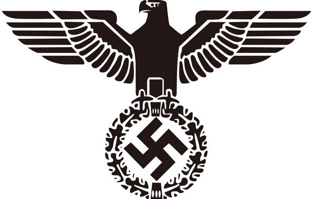 纳粹标志矢量图