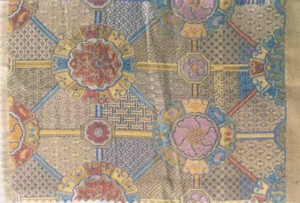 布料素材蚕丝花纹
