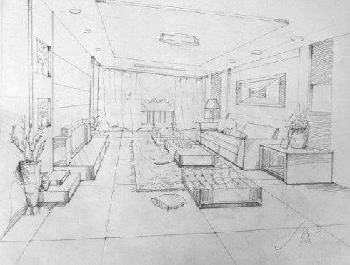 三室二厅室内设计图展示
